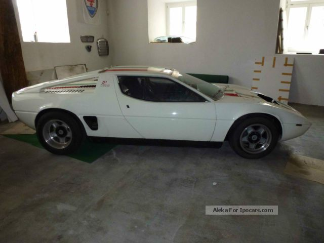 Maserati  Merak rebuilt on racing technology 2012 Race Cars photo
