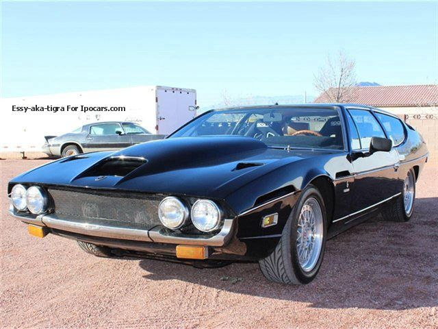 1972 Lamborghini  Espada S3, 5.2 L QV machine! Sports Car/Coupe Classic Vehicle photo