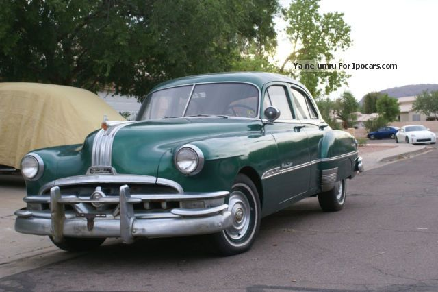 Pontiac  Chieftain Eight Series 27 Sedan 1951 Vintage, Classic and Old Cars photo