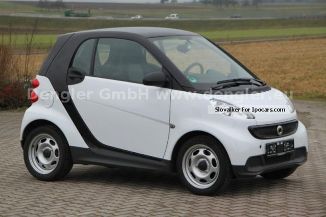 2013 smart fortwo coupe pure mhd 52kw only 2186km top car photo and specs. Black Bedroom Furniture Sets. Home Design Ideas