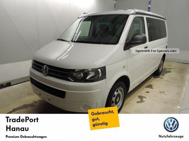 2012 Volkswagen T5 California Beach Heater Navi Car