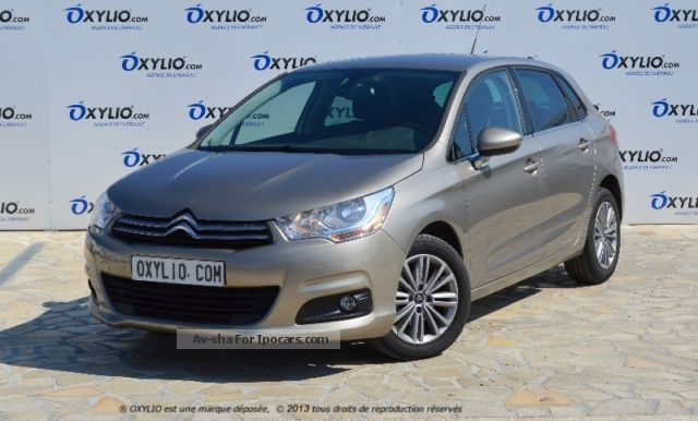 2012 Citroen  C4 1.6 HDI diesel II berline BVM6 115 cv Saloon Used vehicle photo