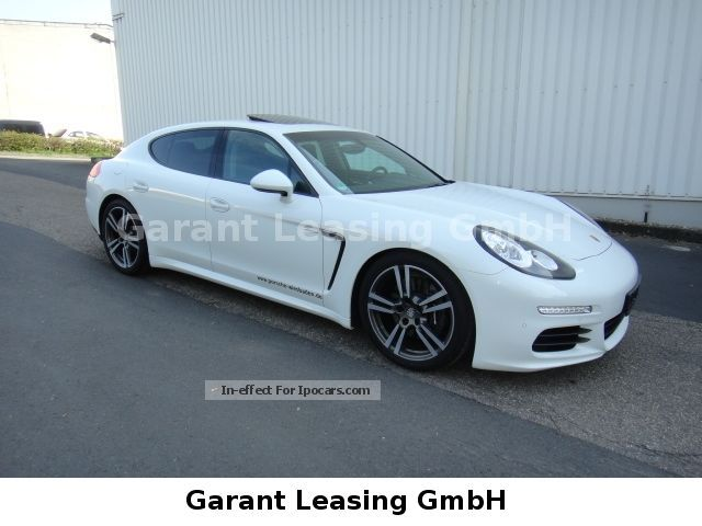 2014 Porsche Panamera Diesel 300ps Air Sports Chrono
