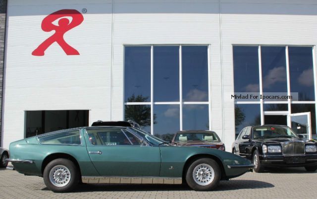1973 Maserati  Indy 4900 automatic Sports Car/Coupe Classic Vehicle photo