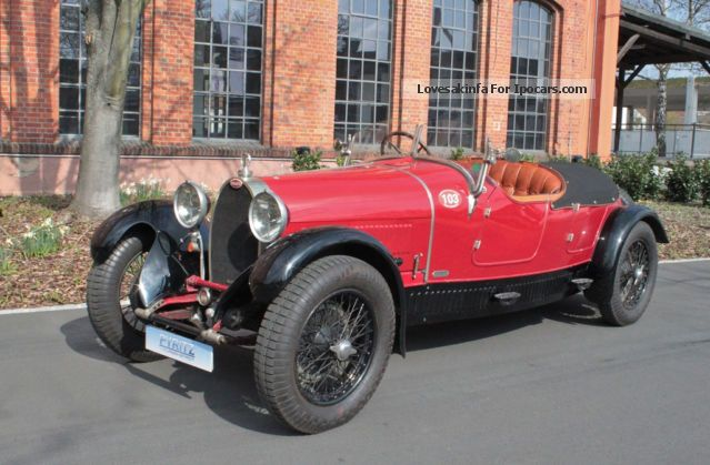 Bugatti  38 1927 Vintage, Classic and Old Cars photo
