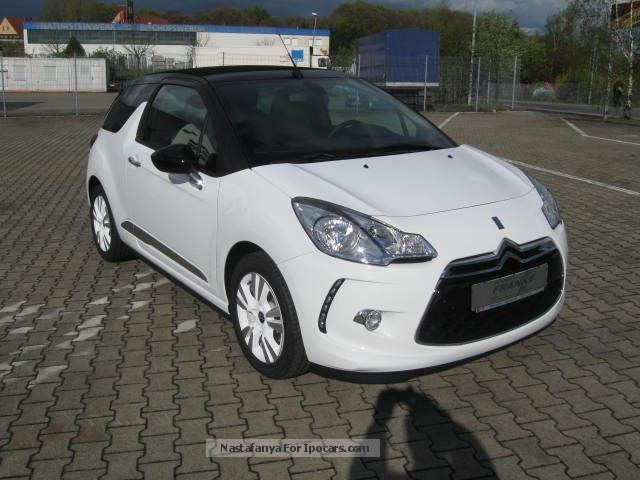 2012 citroen citro n ds3 vti 120 convertible sochic car photo and specs. Black Bedroom Furniture Sets. Home Design Ideas