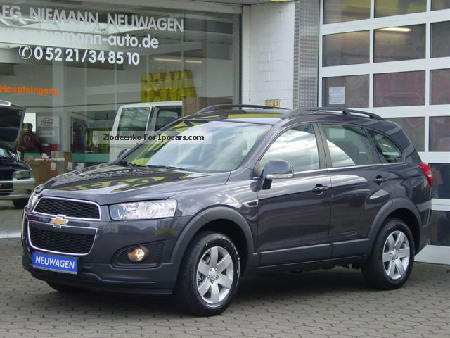 2012 Chevrolet  Captiva LT 2.2 TD NEW m.9.000 -. DISCOUNT (= 28%) Off-road Vehicle/Pickup Truck Used vehicle(  Accident-free) photo