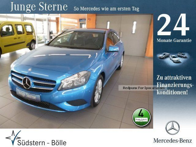 2012 Mercedes-Benz  A 180 BE Style Parktronic / Sitzhzg. / L-R sensor Saloon Used vehicle photo