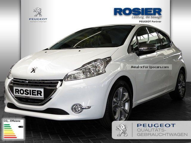 2012 peugeot 208 allure e hdi fap 115 stop u0026 start 1 6 pdc car photo and specs. Black Bedroom Furniture Sets. Home Design Ideas