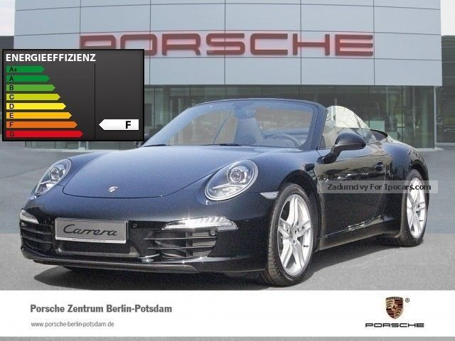 2014 Porsche  911 991 Carrera Cabriolet PDK 19-inch PASM Cabriolet / Roadster Demonstration Vehicle photo