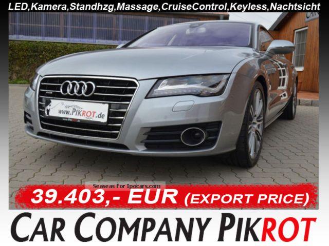 2012 Audi  A7 3.0 TDI quattro Headup, Kli.Sitz, ca.99900, LNP Sports Car/Coupe Used vehicle photo