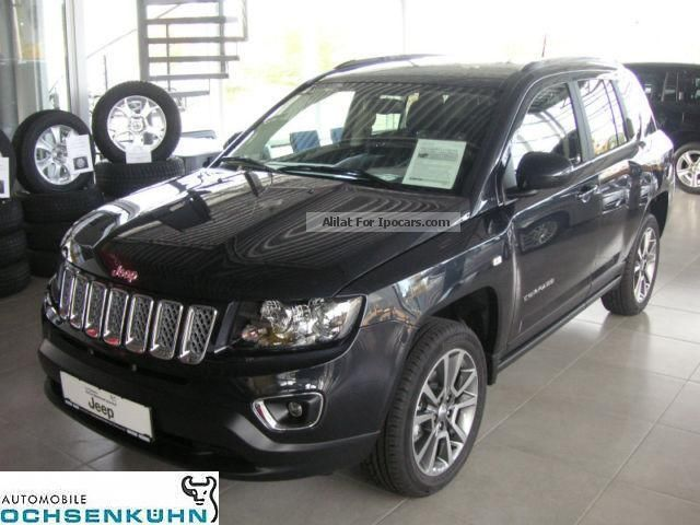 2014 Jeep Compass 2.2 CRD 4x4 Limited (leather, Nav) Off Road Vehicle