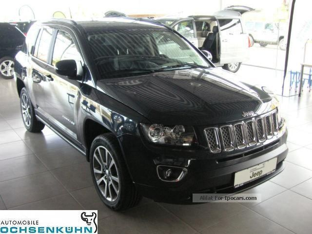 2014 Jeep Compass 2.2 CRD 4x4 Limited (leather, Nav) Off-road Vehicle