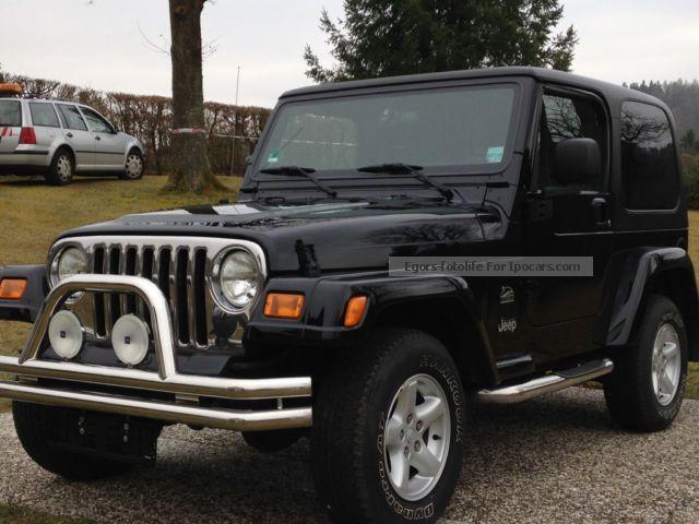 2004 Jeep Wrangler 4 0 Sahara   Hardtop   Air   Ahk