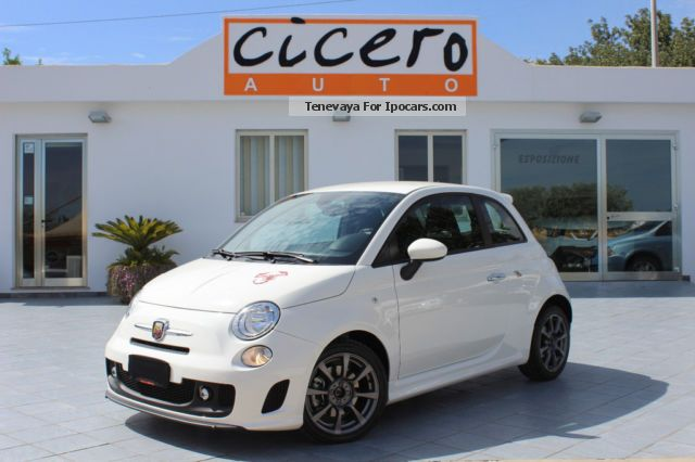 2013 Abarth  500 1.4 Turbo T-Jet 135cv Custom ** 12.000km ** Small Car Employee's Car photo