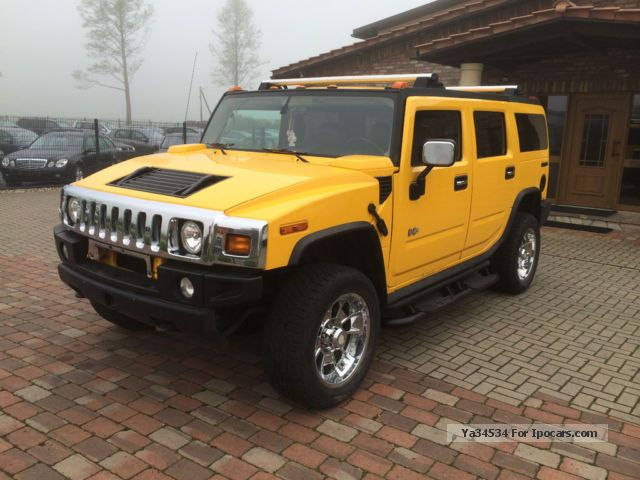 Hummer  H2 + leather + Prins gas system + Top + optics 2004 Liquefied Petroleum Gas Cars (LPG, GPL, propane) photo