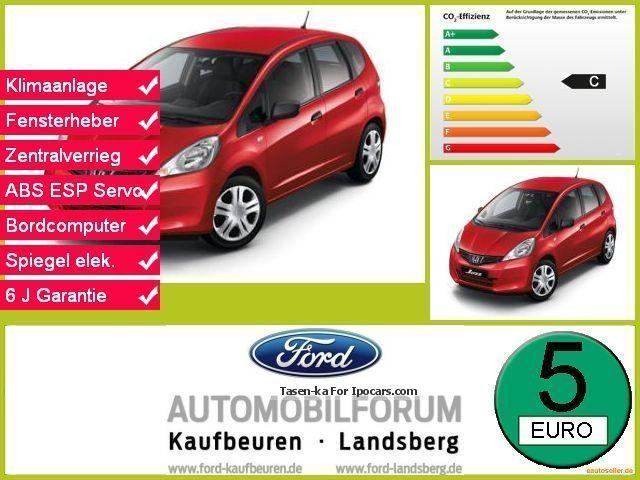 2014 Honda  Jazz Cool 5-Türig climate ESP CD-MP3 ZV FH Van / Minibus Used vehicle photo