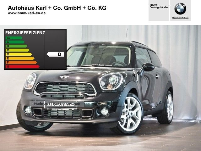 2014 MINI  Cooper SD Paceman Xenon Navi Leather USB PDC Off-road Vehicle/Pickup Truck Demonstration Vehicle photo