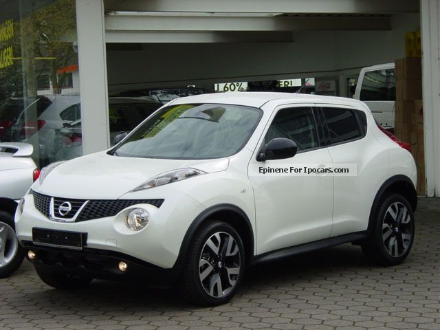 2012 Nissan  Juke 1.6 n-tec NEW CARS m.5.500 -. DISCOUNT (= 28%) Sports Car/Coupe New vehicle photo