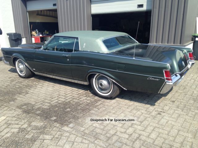 1969 Lincoln Marrow Car and Specs