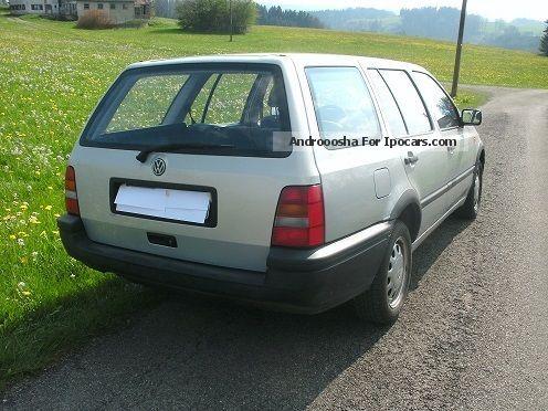 1994 volkswagen golf variant 1 8 car photo and specs. Black Bedroom Furniture Sets. Home Design Ideas