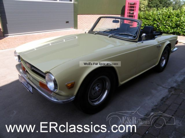 Triumph  1969 Jasmine Color California Imports 1969 Vintage, Classic and Old Cars photo