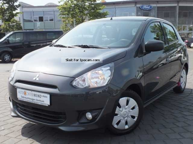 2013 Mitsubishi  Space Star 1.0 Clear Tec Light * Air * Start / Stop * Small Car Used vehicle(  Accident-free) photo