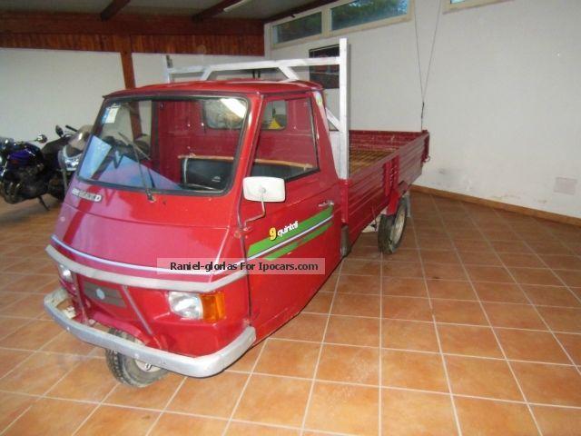 1997 Piaggio  APE Off-road Vehicle/Pickup Truck Used vehicle photo