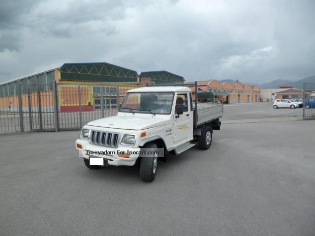 2008 Mahindra  Bolero Off-road Vehicle/Pickup Truck Used vehicle photo