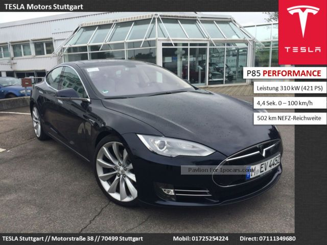 Tesla  Model S Performance 21 \Rims Available immediately 2014 Electric Cars photo