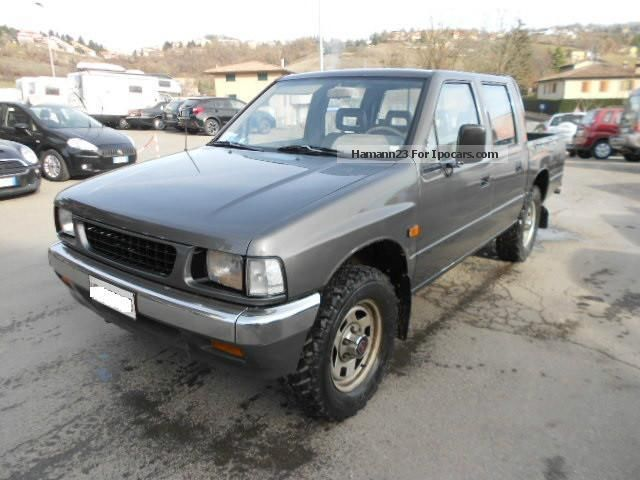 1993 Isuzu Campo 2.5 Diesel Sportscab Pick Up LS 4x4 Off Road Vehicle/ ...