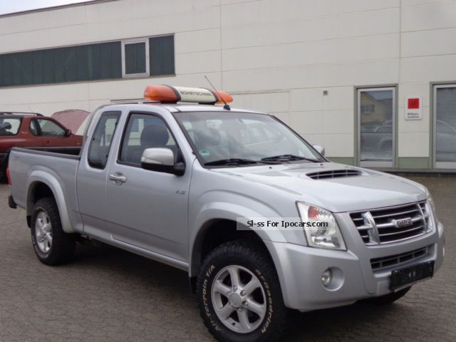2009 Isuzu  D-Max 2.5 TD 4x4 Custom Air truck § 25a Off-road Vehicle/Pickup Truck Used vehicle photo