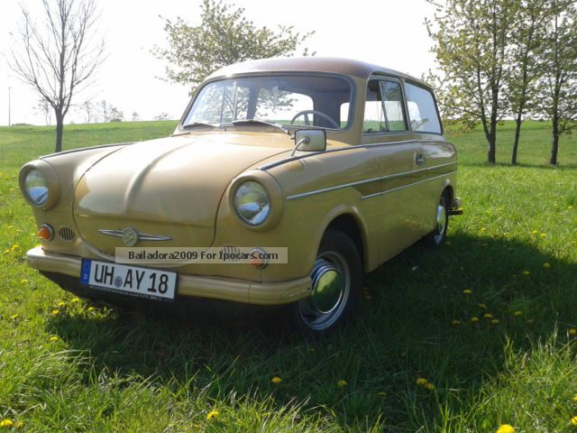 Trabant  600 Combined P60K 1965 Vintage, Classic and Old Cars photo