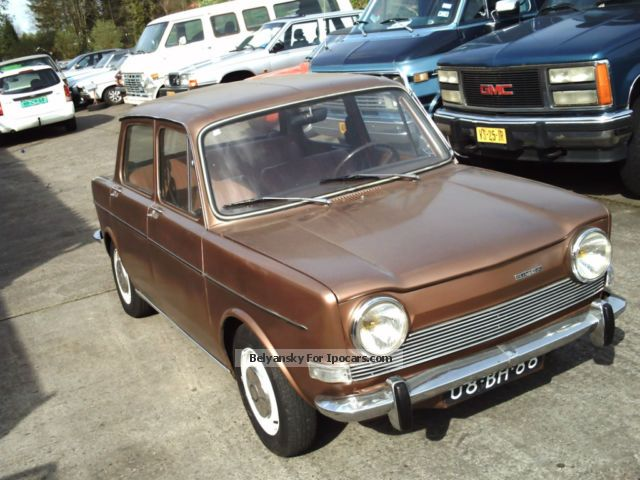 Talbot  Simca 1000 LS 1974 1974 Vintage, Classic and Old Cars photo