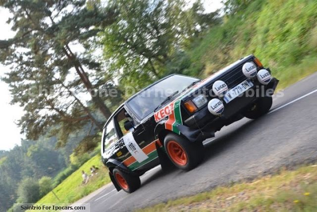 Talbot  Sunbeam Lotus GR2 1978 Vintage, Classic and Old Cars photo