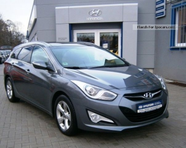 2014 Hyundai  i40 cw 1.7 CRDi Style Business Navi Support Estate Car Pre-Registration (  Accident-free ) photo