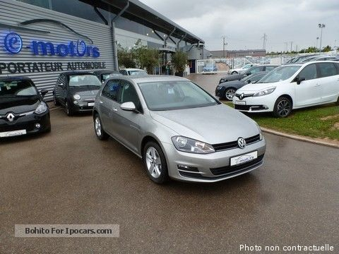2013 volkswagen golf vii confortline tdi 105 dsg7 5portes. Black Bedroom Furniture Sets. Home Design Ideas