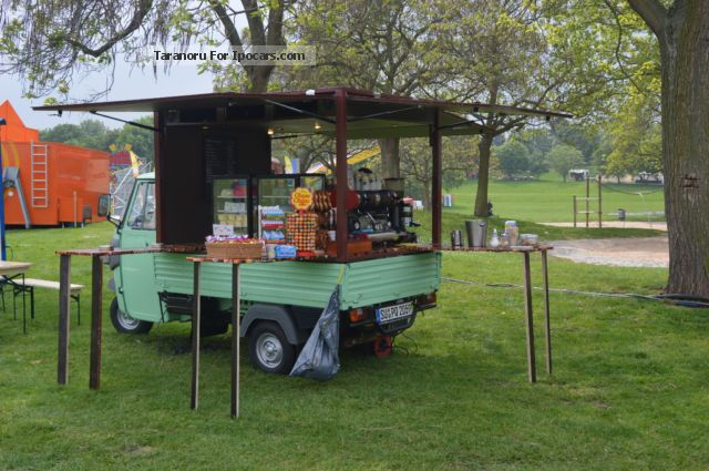 2013 Piaggio  Ape Classic Coffee mobile, mobile shop Other Used vehicle(  Accident-free) photo