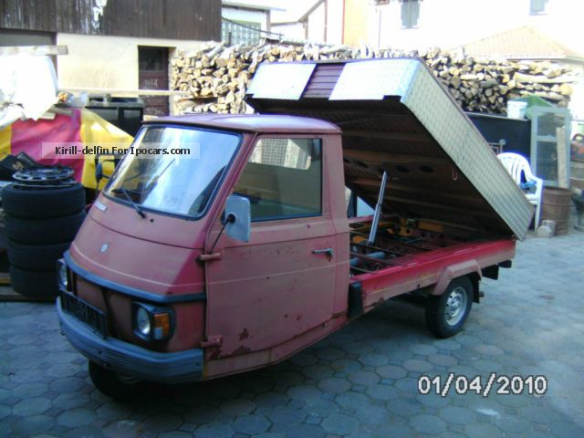 1993 Piaggio  Vespa Car P2 tipper Other Used vehicle(  Accident-free) photo