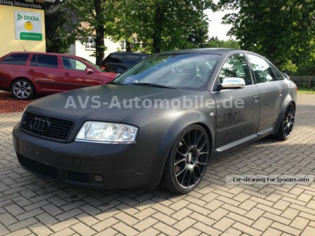 2000 Audi  S6 quattro BBS / thread suspension / exhaust system Saloon Used vehicle photo