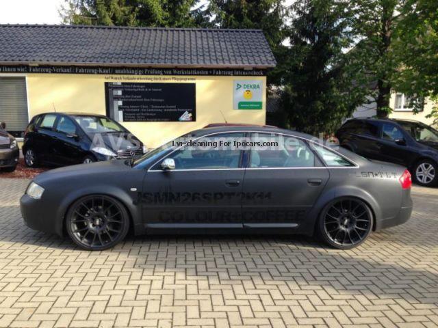 2000 Audi S6 Quattro Bbs Thread Suspension Exhaust System Car Photo And Specs