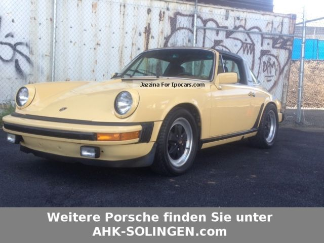 Porsche  911 2.7 S TARGA CHROME MODEL 1976 Vintage, Classic and Old Cars photo