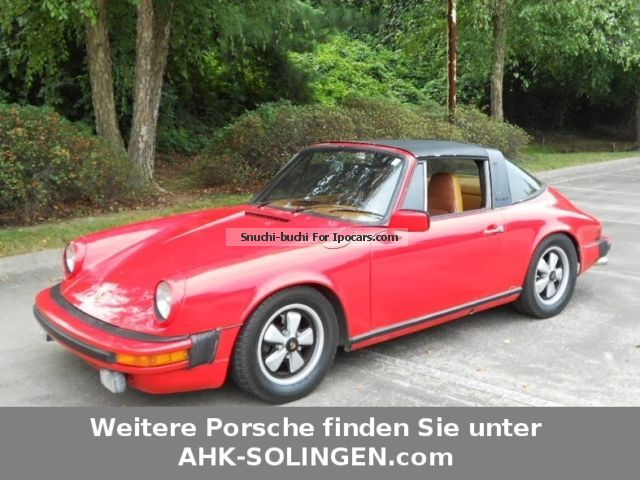 Porsche  911 2.7 TARGA chrome package 1976 Vintage, Classic and Old Cars photo