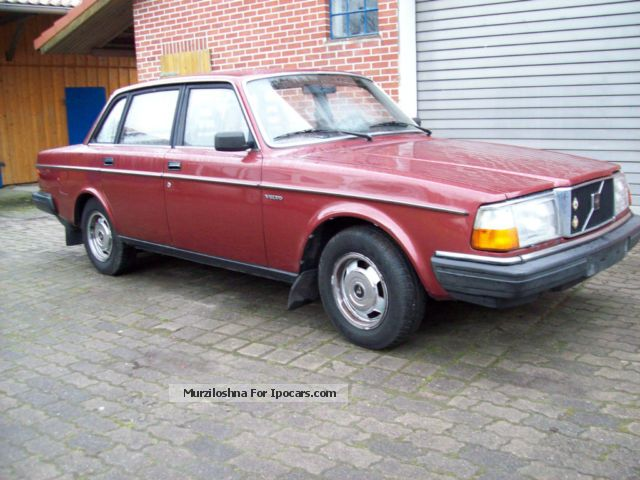 1983 Volvo  244 GL Diesel Automatic Saloon Classic Vehicle photo