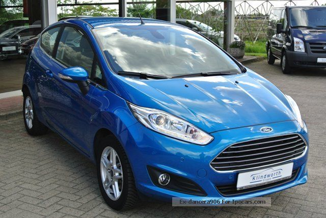 2013 ford fiesta 1 6 tdci titanium car photo and specs. Black Bedroom Furniture Sets. Home Design Ideas