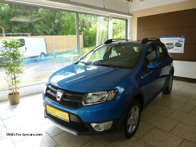 2013 dacia ii sandero stepway 0 9 tce 90 eco ambiance car photo and specs. Black Bedroom Furniture Sets. Home Design Ideas