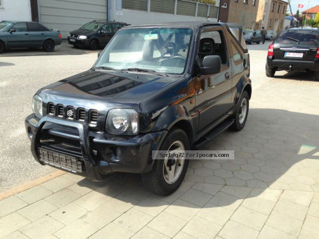 2004 suzuki jimny cabrio club car photo and specs. Black Bedroom Furniture Sets. Home Design Ideas