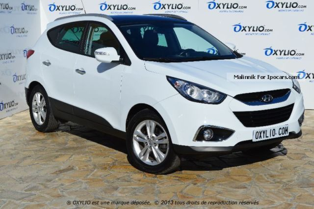 2012 hyundai ix35 1 7 crdi 4x2 115 pack premium blue drive car photo and specs. Black Bedroom Furniture Sets. Home Design Ideas