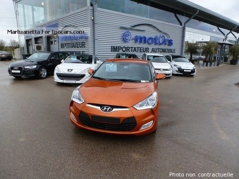 2014 Hyundai  Veloster Pack sensation GDI 140 Automatique DCT Saloon Used vehicle photo