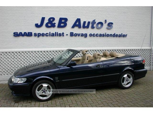 2000 Saab  9-3 Convertible 2.0 Turbo Aero / Automaat / empty / NL Car Cabriolet / Roadster Used vehicle photo